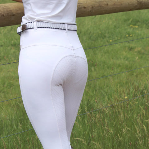 Go 2 Luxury Legging - WHITE