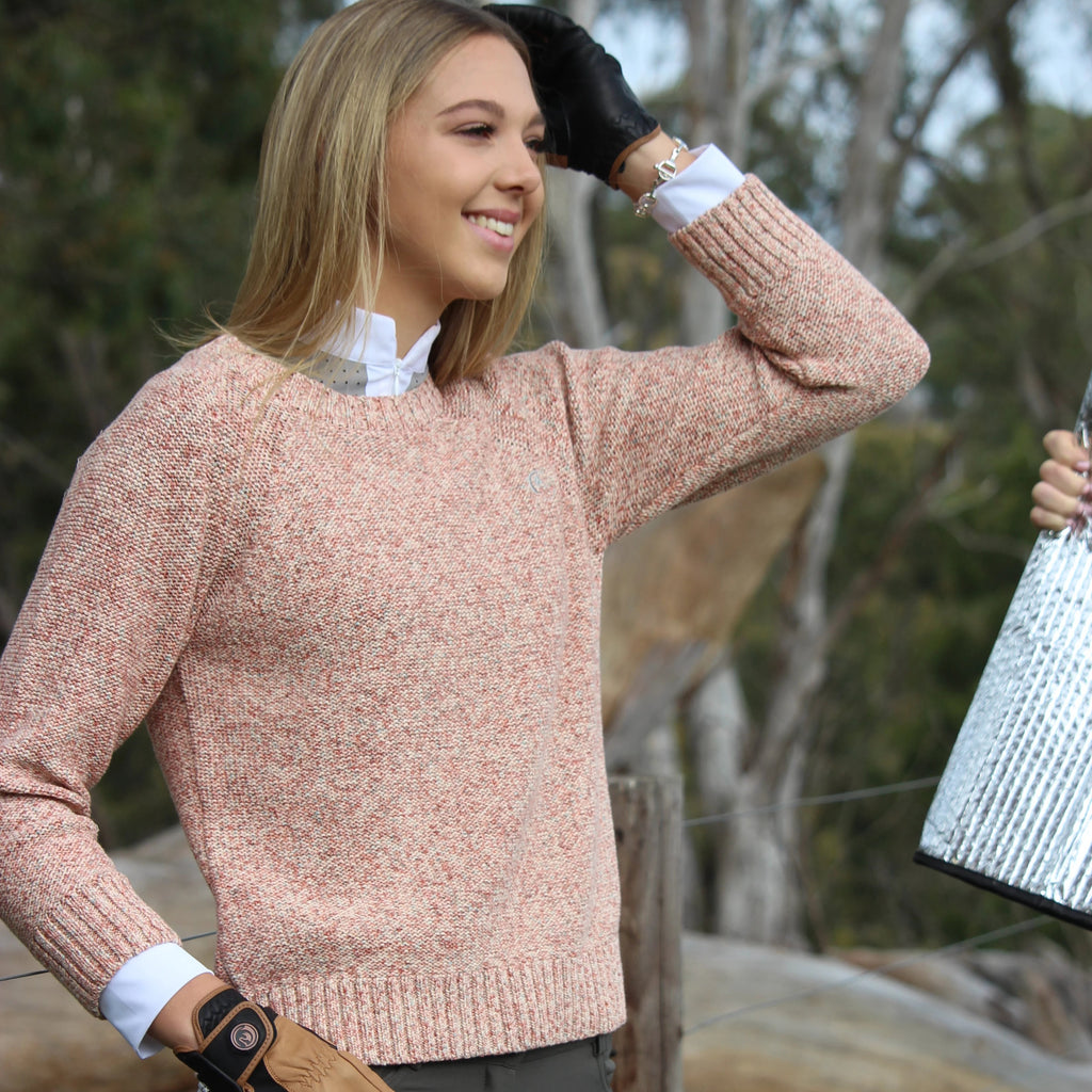 Cindy speckled jumper - MELON