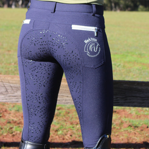 Song Bamboo Breeches -Navy