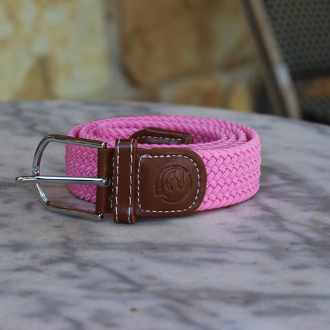 Stretch Belt - Medium Pink