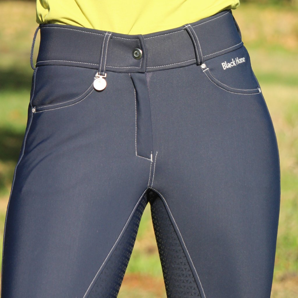 Camille breeches - silicon seat - NAVY