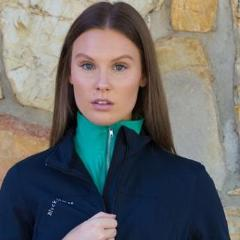 Erin soft shell riding jacket - NAVY