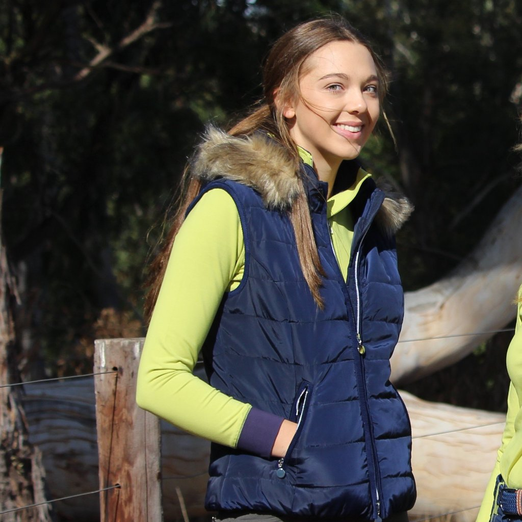 Michelle Vest - NAVY- 50 % off Easter only
