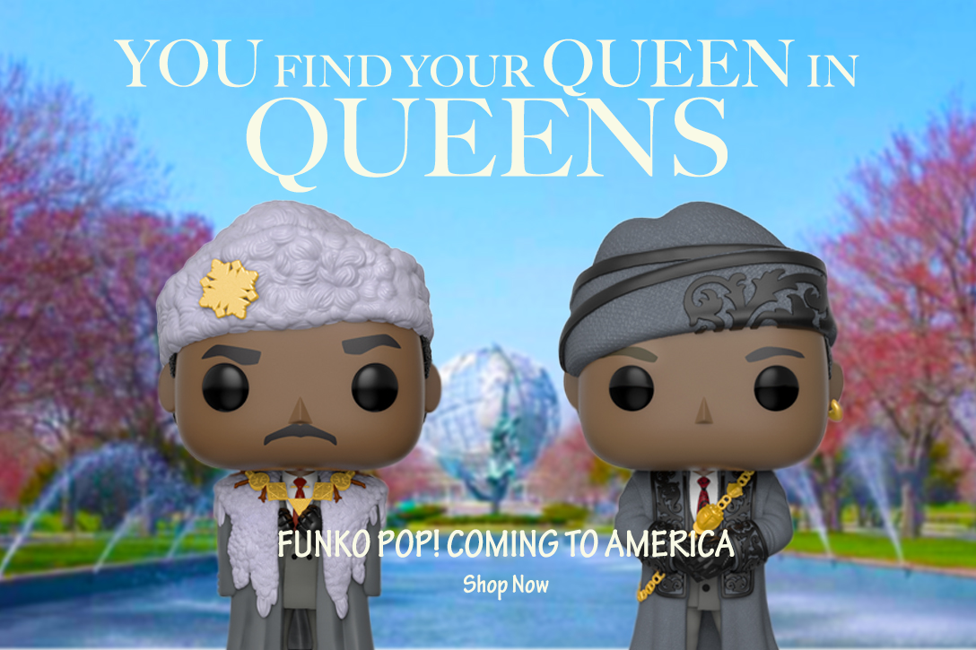 Funko Pop Coming to America