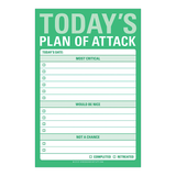 Today's Plan of Attack Great Big Sticky Notes