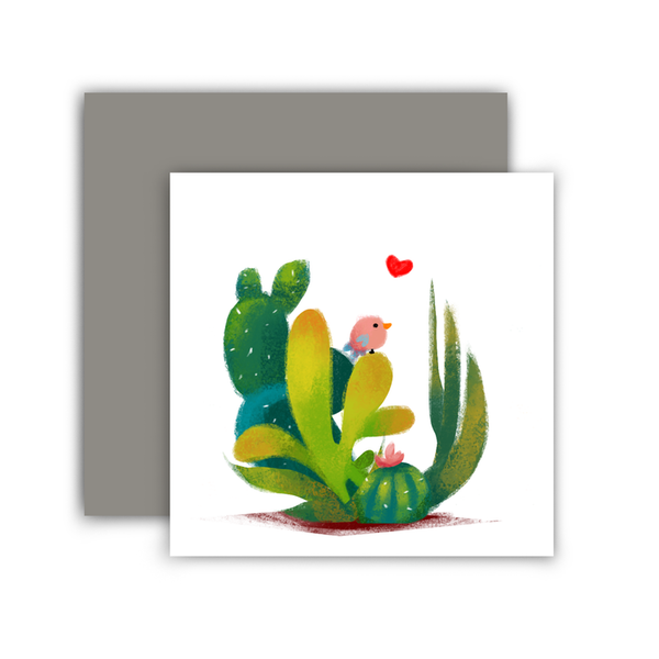 Cactus Mini Card