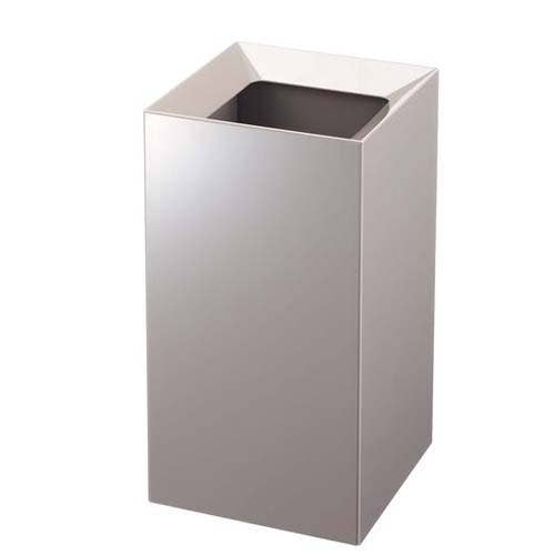 Veil Square Trash Can Gray
