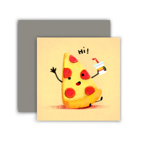 Hi Pizza Mini Card
