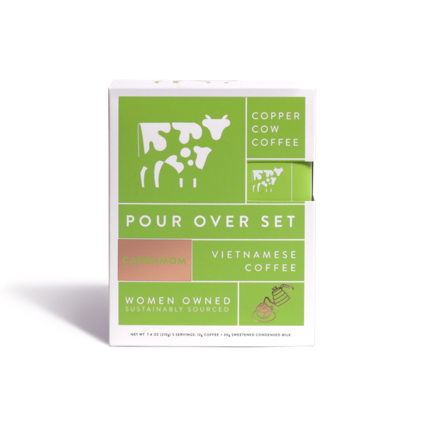 Copper Cow Coffee  - Cardamom Latte | 5-Pack