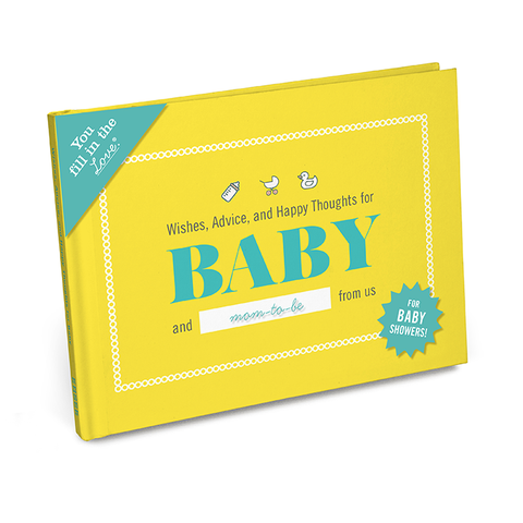 Knock Knock Gift Book: Wishes, Advice, and Happy Thoughts for Baby