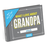 Knock Knock Gift Book: What I Love About Grandpa