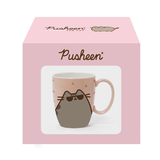 Pusheen with Sunglasses Pink and Gold Mug