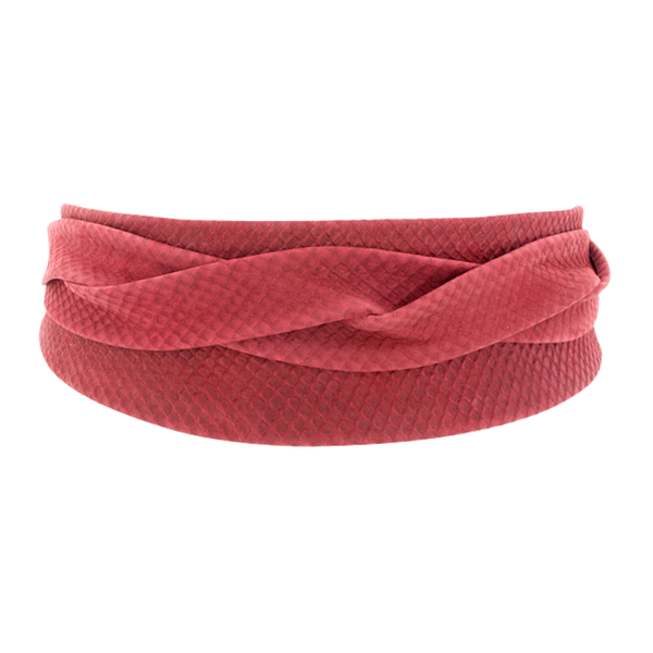 Victoria Red Ada Wrap Belt