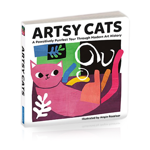 Artsy Cats Board Book by Angie Rozelaar