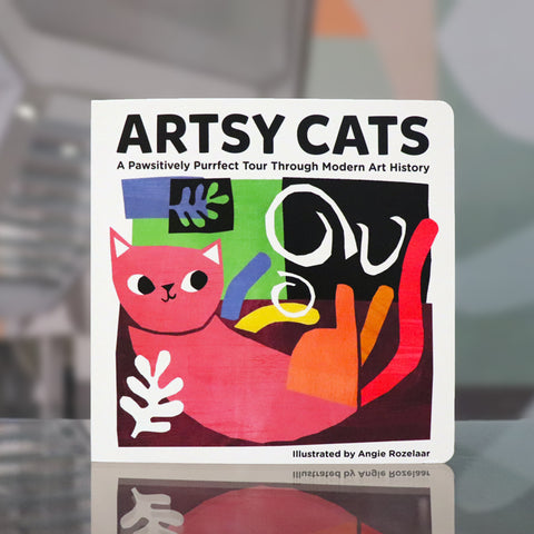 Artsy Cats by Angie Rozelaar