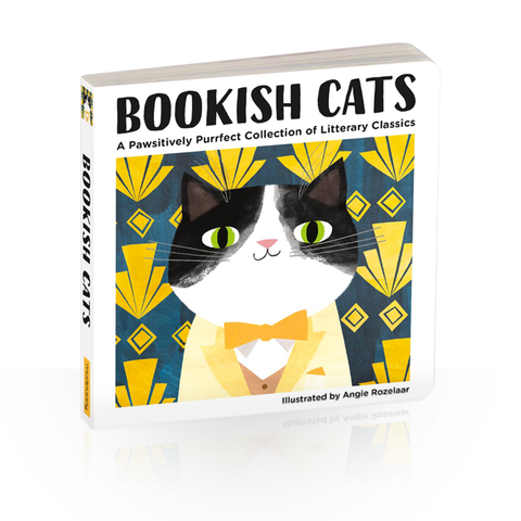 Bookish Cats by Angie Rozelaar
