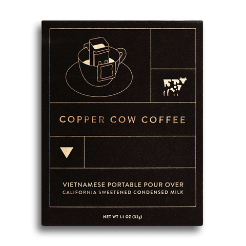 Portable Pour Over Black Vietnamese Coffee