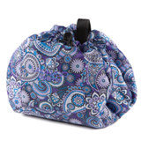 LAY/N/GO Cosmo Accessories Bag in Purple Paisley