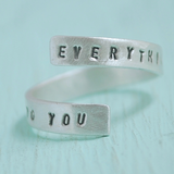 Me to You Wrap Ring