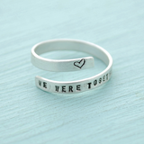 We Were Together Wrap Ring