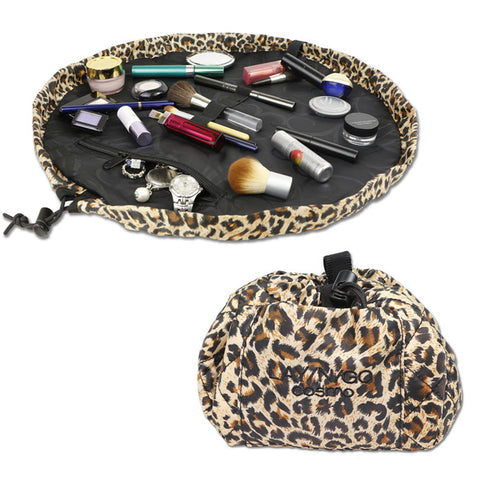 LAY/N/GO Cosmo Accessories Bag in Animal Print