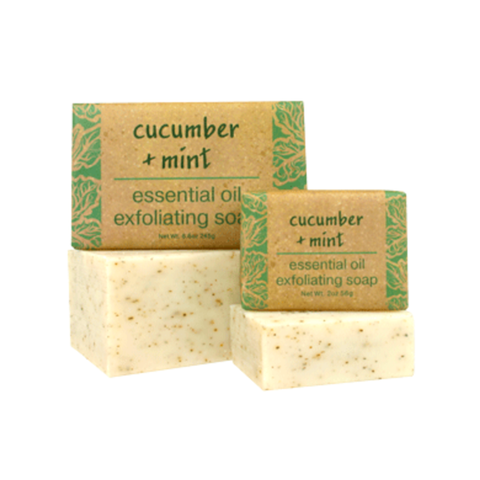 Essential Oil Soap in Cucumber and Mint