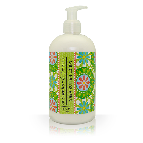 Shea Butter Lotion in Cucumber and Freesia