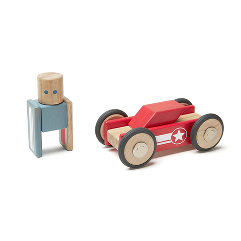 Magnetic Wooden Blocks in 12-piece Daredevil