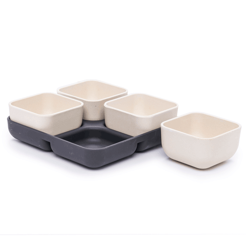 Bamboo Five-Piece Multiserver