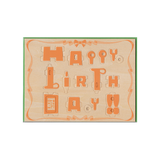 Play Deco 3D Robot Happy Birthday Card