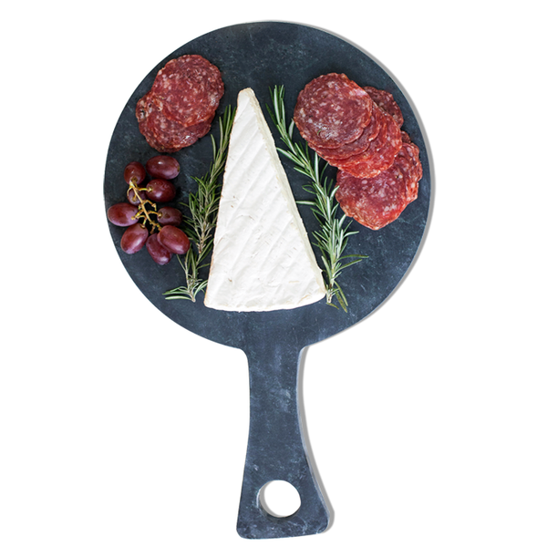 Circle Paddle Soapstone Serving Board