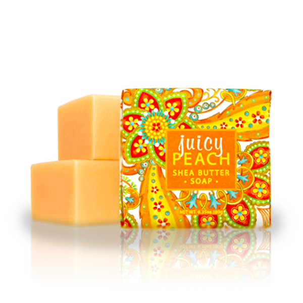 Botanical Scents Soap in Juicy Peach