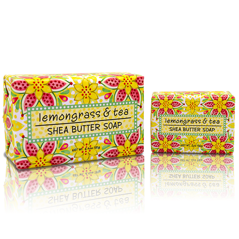 Shea Butter Soap in Lemongrass and Tea