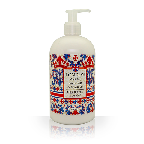 Destination Spa Lotion in London Black Tea