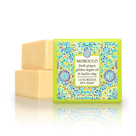 Destination Spa Soap in Morocco Fresh Ginger