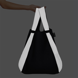Reflective Notabag in Black