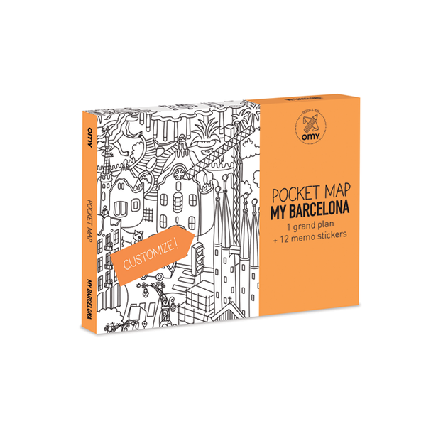 Pocket Map Barcelona