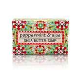 Shea Butter Soap in Peppermint and Aloe
