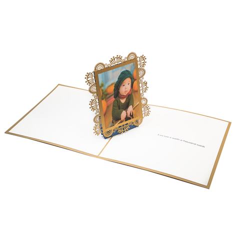 Picture Frame Popup Card