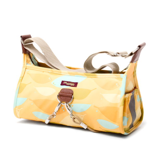 Pilsen Bungee Crossbody Bag in Yellow Feathers