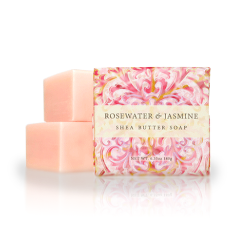 Botanical Scents Soap in Rosewater Jasmine