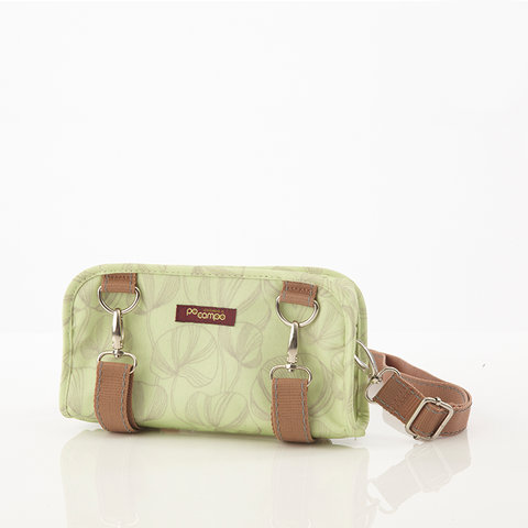 Six Corners Handlebar Bag in Minty Fanfare