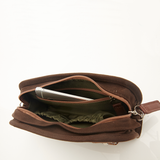 Six Corners Handlebar Bag in Umber
