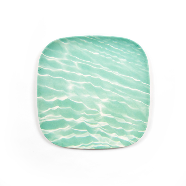 Ocean Pattern Bamboo Plate Sets
