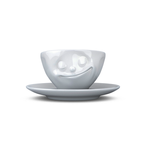 Tassen Happy Face Espresso Cup and Saucer