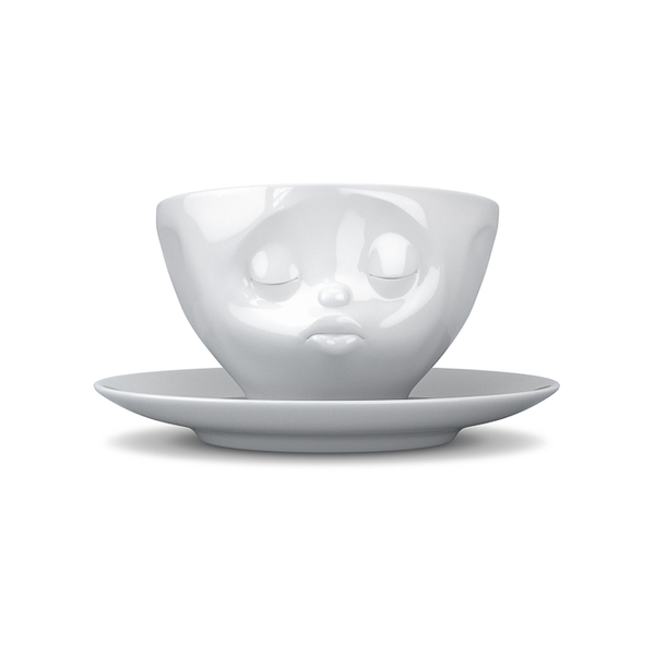 Tassen Kissing Face Coffee Cup and Saucer