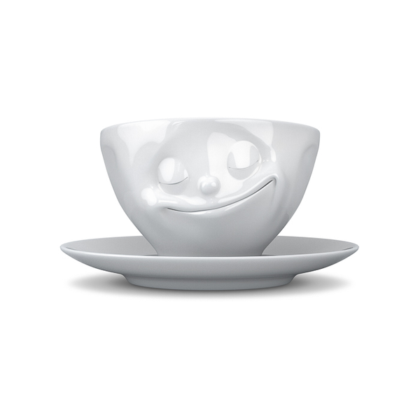 Tassen Happy Face Coffee Cup and Saucer