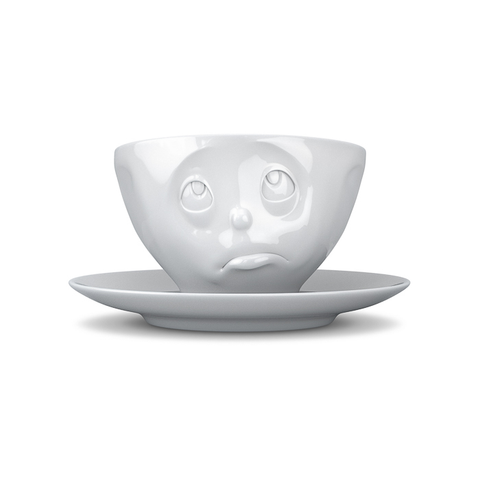 Tassen Oh Please Face Coffee Cup and Saucer