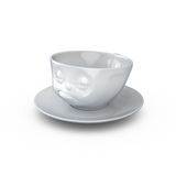 Tassen Snoozy Face Coffee Cup and Saucer