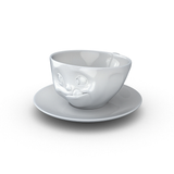 Tassen Tasty Face Coffee Cup and Saucer